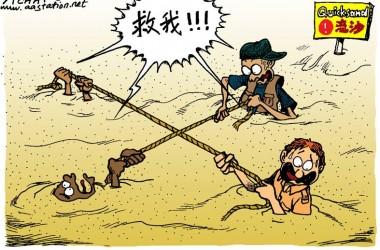 【信仰醒思漫畫】世人都犯了罪,無法自救,也不能相救。我們需要一位不受墮落影響的救主。