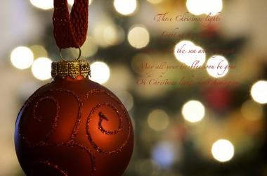 願我們關心那些住在外邦區域的人民,他們沒有幸福的耶誕節。