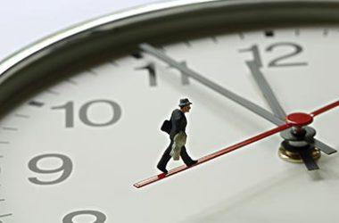 如果你有不準時上班的習慣,要改掉。